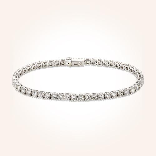 Bracciale oro bianco e diamanti - Maurizio De Marchi